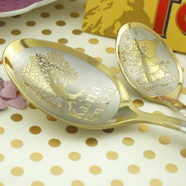 Комплект Gold из 2-х ложек