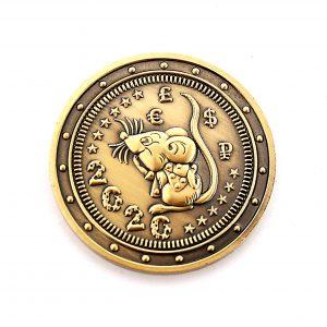 1 8 300x300 - Подарочная монета 2020 (Крыса) Ваш текст на монетке