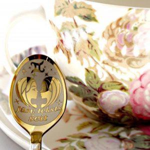 Чайная ложка с гравировкой «Близнецы»