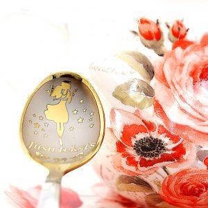 Чайная ложка с гравировкой «Для Девочек»