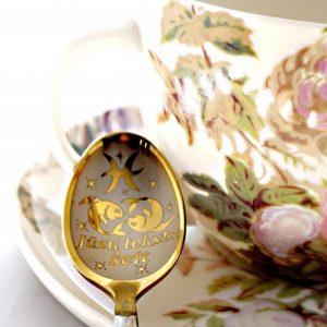 Чайная ложка с гравировкой «Рыбы»