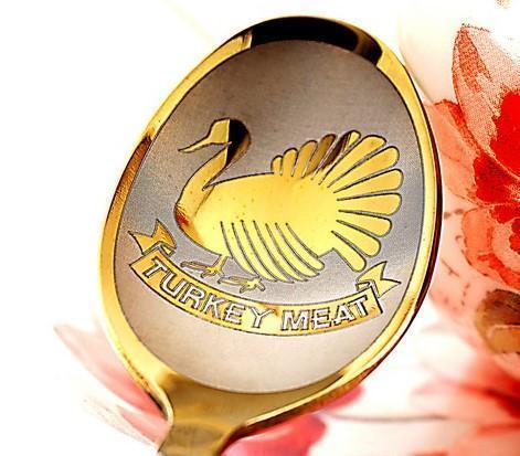 Чайная ложка с гравировкой «Птички»