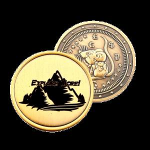 Подарочная монета Крыса (символ 2020) – Эверест