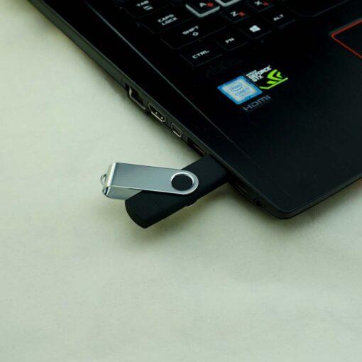 USB 2.0+micro карта памяти «Model V-blue» 16 гб