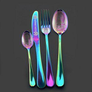 Комплект столовых приборов «Rainbow»