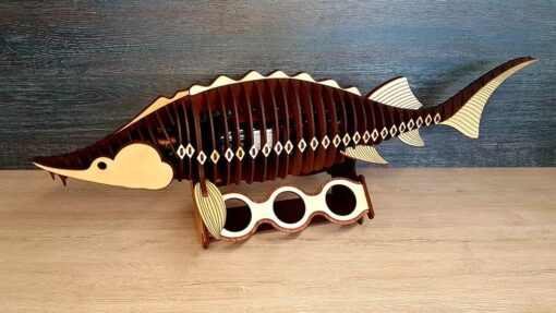 Koka zivis ''Beluga'' – roku darbs