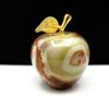 Яблоко из натурального камня оникс 173g.