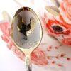 Чайная ложка с гравировкой «Петушок»