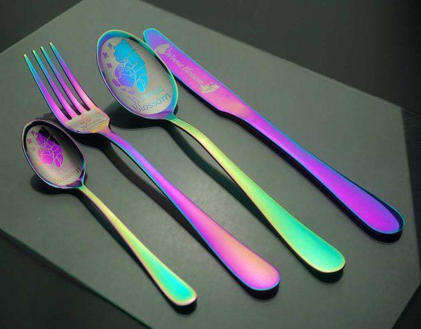 Komplekts Rainbow no 4 piederumiem
