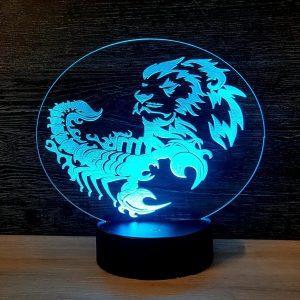 "Nakts Lampa ""Zodiac"""