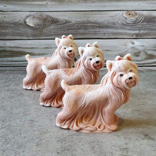 Собачка – мыло ручной работы