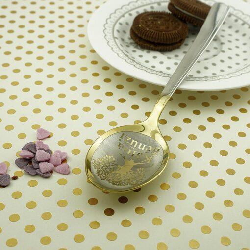 Десертная ложка Gold