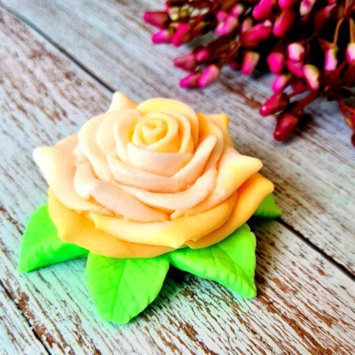 Жёлтая роза – мыло ручной работы