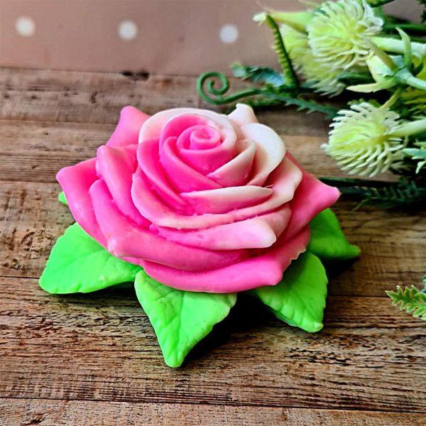 "Rozā roze ""Ziedu aromāts"""