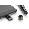 CERBO 8GB USB + U-Disc pieskāriena pildspalva ar gravējumu