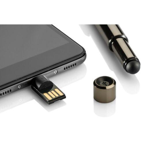 Сенсорная ручка с USB +U-Disc  CERBO 8 ГБ с Гравировкой