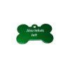 Dzīvnieku žetoni ar gravējumu Kaula Green