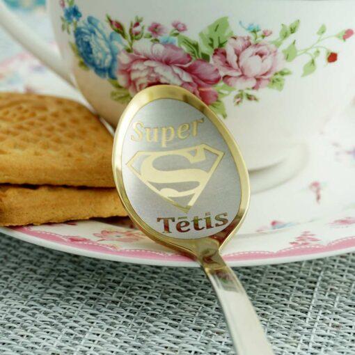 """Чайная ложка Gold """"Super Tētis"""""""