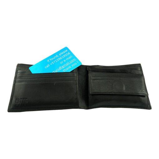Карточка от потерь (3шт.) с гравировкой