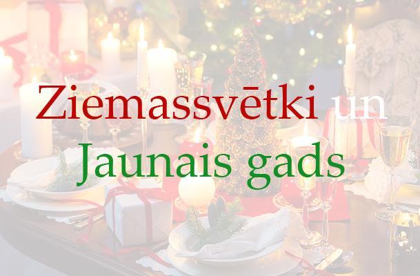 Ziemassvētki Jaunais gads