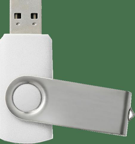 "USB zibatmiņa ""Twister"" - белая"