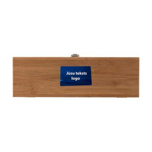Коробка и аксессуары для вина (4 пред.) с гравировкой
