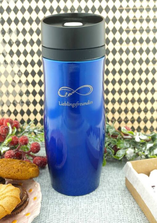 Termokrūze Air Gifts 350 ml Blue ar gravējumu