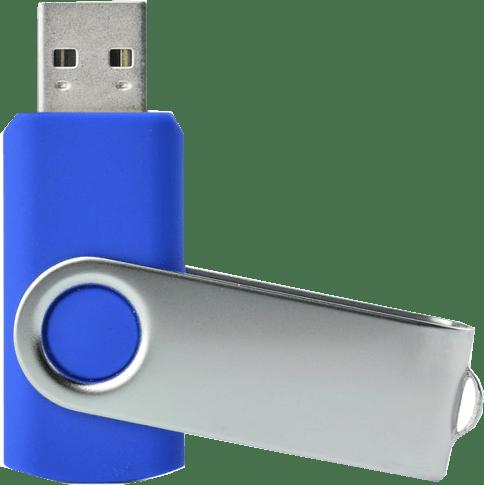 """USB zibatmiņa """"Twister"""" - синяя"""