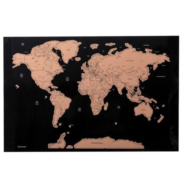 Nokasāmā ceļotāja pasaules karte