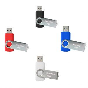 """USB atmiņas kartes ar gravējumu """"Twister"""" 32 GB"""