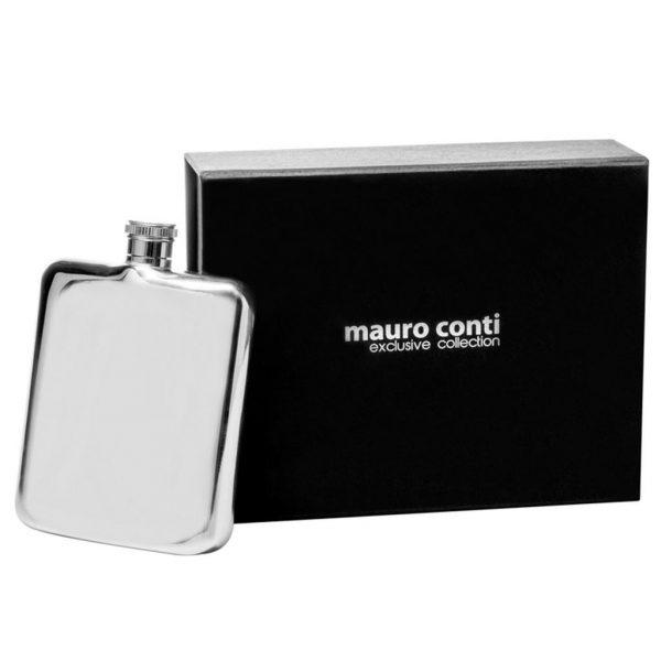 Blašķe ar gravējumu Mauro Conti 210 ml