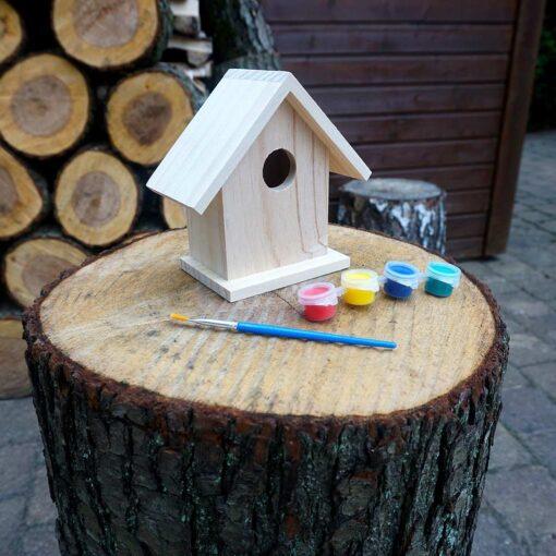 Izkrāsojams putnu būrītis