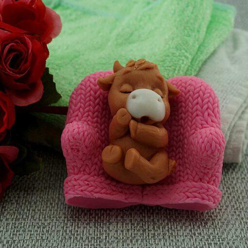 Телёнок Pink – мыло ручной работы