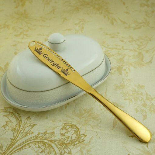 Нож для масла Gold «180+ рисунков»