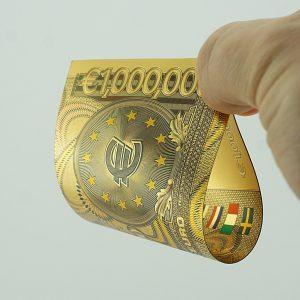 "Suvenīru banknote ""Million €"""