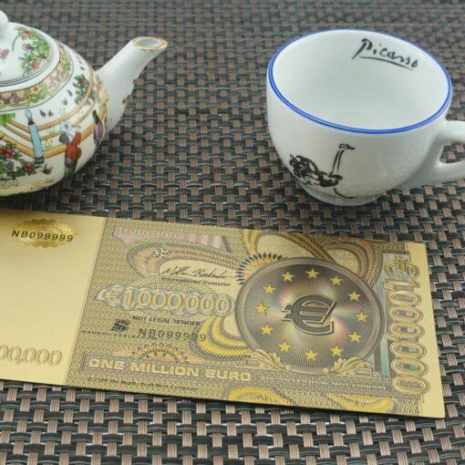 "Suvenīru banknote ""Million €"""