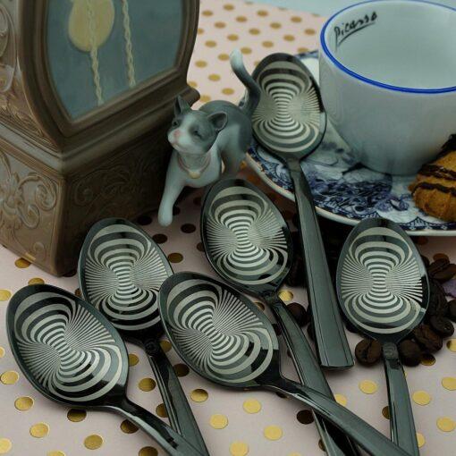 Комплект Black из 6-ти чайных ложек