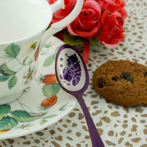 Чайная ложка Purple «300 макетов»