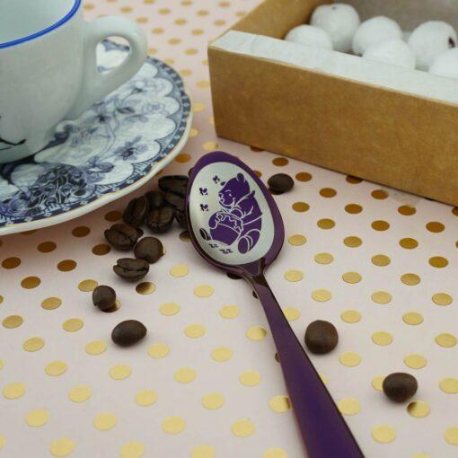 """Чайная ложка Purple """"300 макетов"""""""