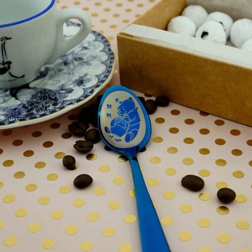 Чайная ложка Blue «300 макетов»
