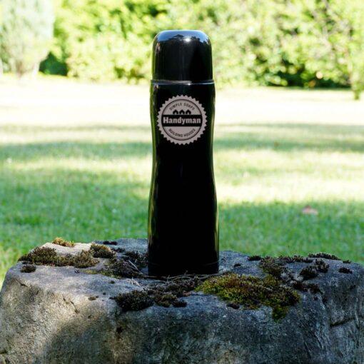 Термос 500мл. «Black» с гравировкой