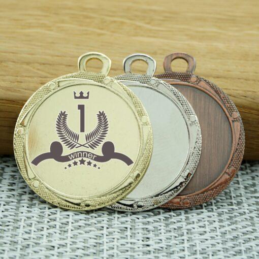 Медаль 33мм (II) с гравировкой
