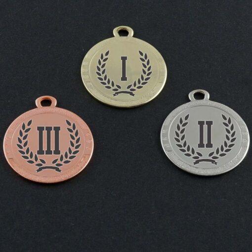 Медаль 33мм с гравировкой
