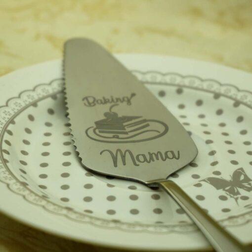 Лопатка для торта — Серая