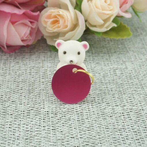 Жетон для животных Pink I