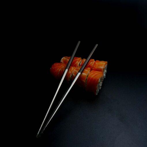 Суши палочки с гравировкой Brown