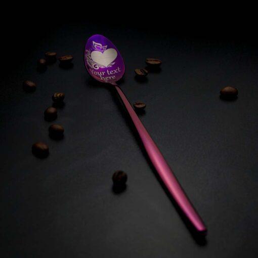 """Latte karote """"180+ zīmējumi"""" Purple"""