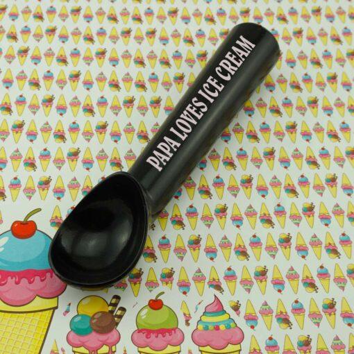 Saldējuma karote Black