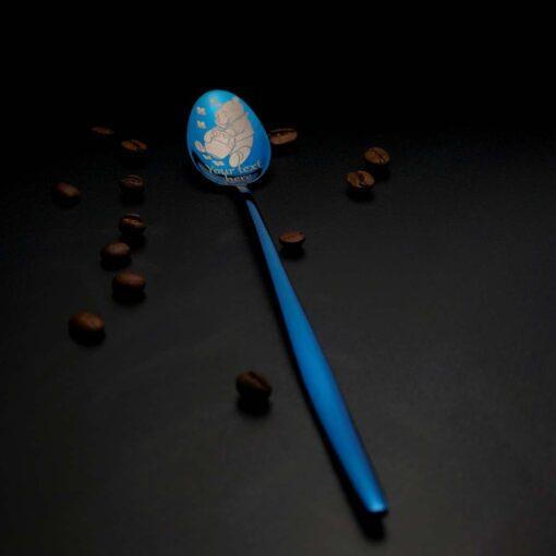 """Latte karote """"180+ zīmējumi"""" Blue"""
