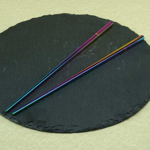 Суши палочки с гравировкой Rainbow